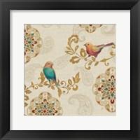 Framed Bird Rainbow IIA