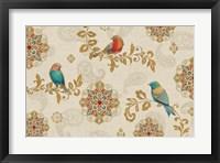 Framed Bird Rainbow IA