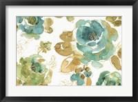 Framed My Greenhouse Roses I