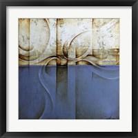 Framed Mozart Blue