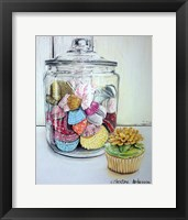 Framed Cupcake And Wrappers