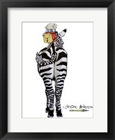 Framed Zebra And Mouse