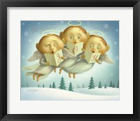 Framed Angel Choir