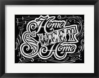 Framed Home Sweet Home