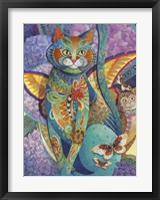 Framed Feline Fiesta