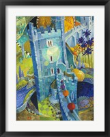 Framed Blue Castle