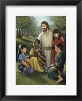 Framed Shepherd Of All