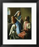 Framed Mary And Martha