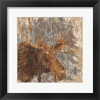 Framed Lodge Moose