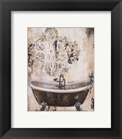 Framed Bronze Bath I