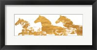 Framed Lively Gold Spirit I