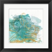 Framed Watercolor Sealife I