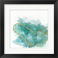 Framed Watercolor Sealife II