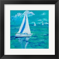 Framed Regatta Winds I