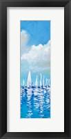 Framed Regatta on Sea I