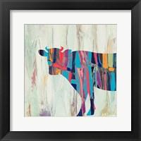 Framed Rhizome Cow