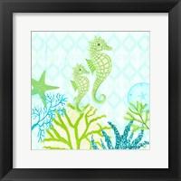 Framed Seahorse Reef I