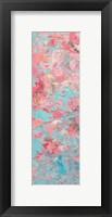 Framed Apple Blossoms Panel I