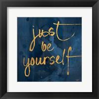 Framed Brave Yourself I