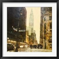 Framed New York Streets