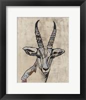 Framed Serengetti Wildlife II