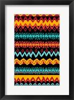 Framed Navajo Mission Teal