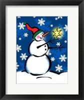 Framed Silly Snowmen II