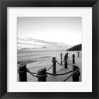 Framed Dockside Paradise I