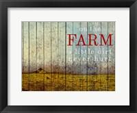 Framed On the Farm II