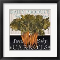 Framed Vegetable Farm Fresh II