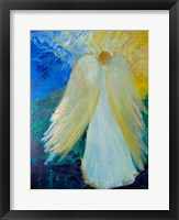 Framed Glowing Angel of Love