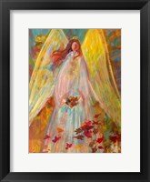 Framed Harvest Autumn Angel