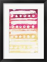 Framed Watercolor Pattern II