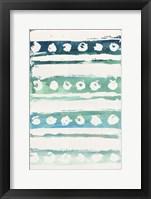 Framed Watercolor Pattern VI