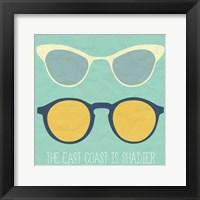 Framed East Coast I
