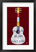 Framed Guitar 1