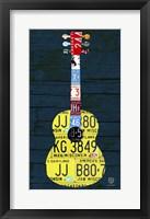 Framed Guitar 2