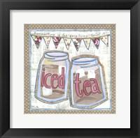 Framed Iced Tea