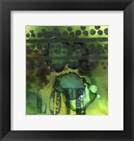 Framed Texture - Love Green