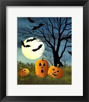 Framed Three Pumpkins