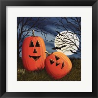 Framed Pumpkin Love Pillow