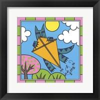 Framed Max Cat Kite 2