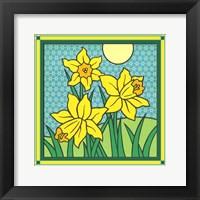 Framed Daffodils 1