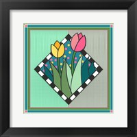 Framed Tulips 2
