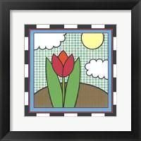 Framed Tulips 5
