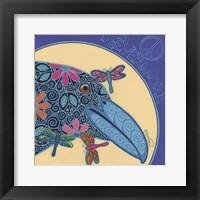 Framed Raven I
