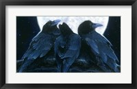Framed Corvus Moon