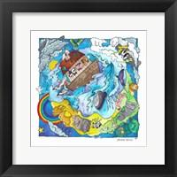Framed Noah's World