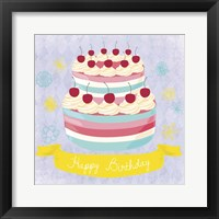 Framed BDay Cake