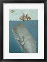 Framed Whate and Ship 2